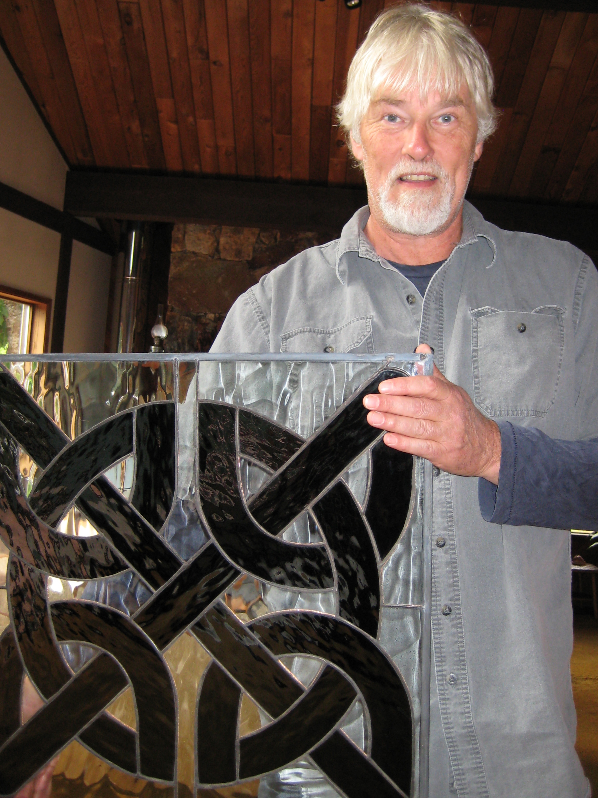 Celtic Knot Stained Glass